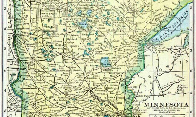 1910 Minnesota Census Map
