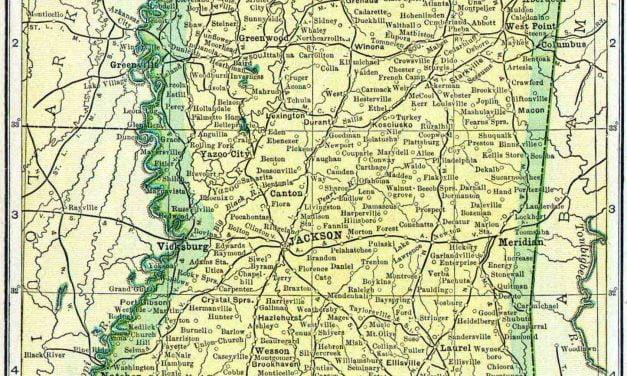 1910 Mississippi Census Map