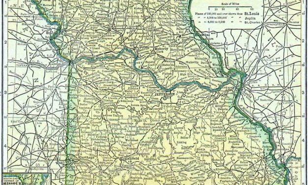 1910 Missouri Census Map