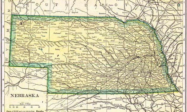 1910 Nebraska Census Map