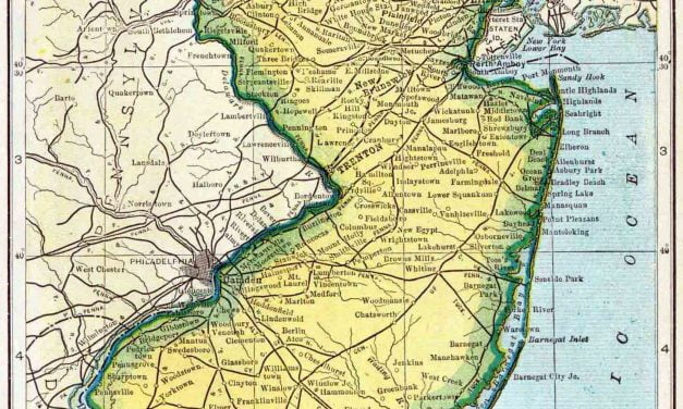 1910 New Jersey Census Map