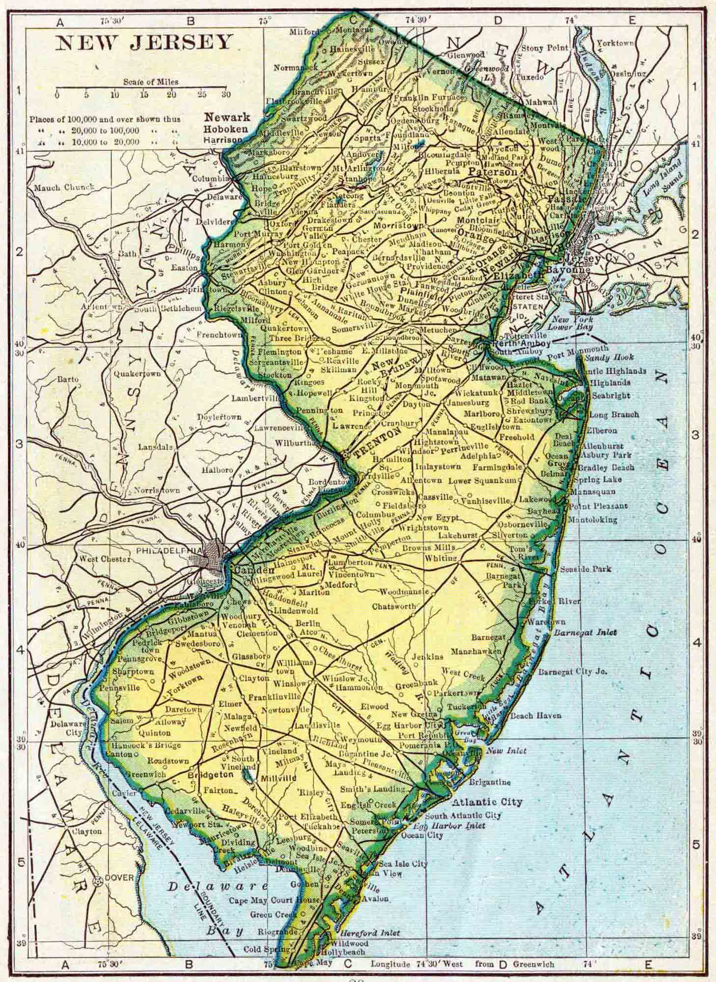 New Jersey Genealogy  Free NJ Genealogy  Access Genealogy