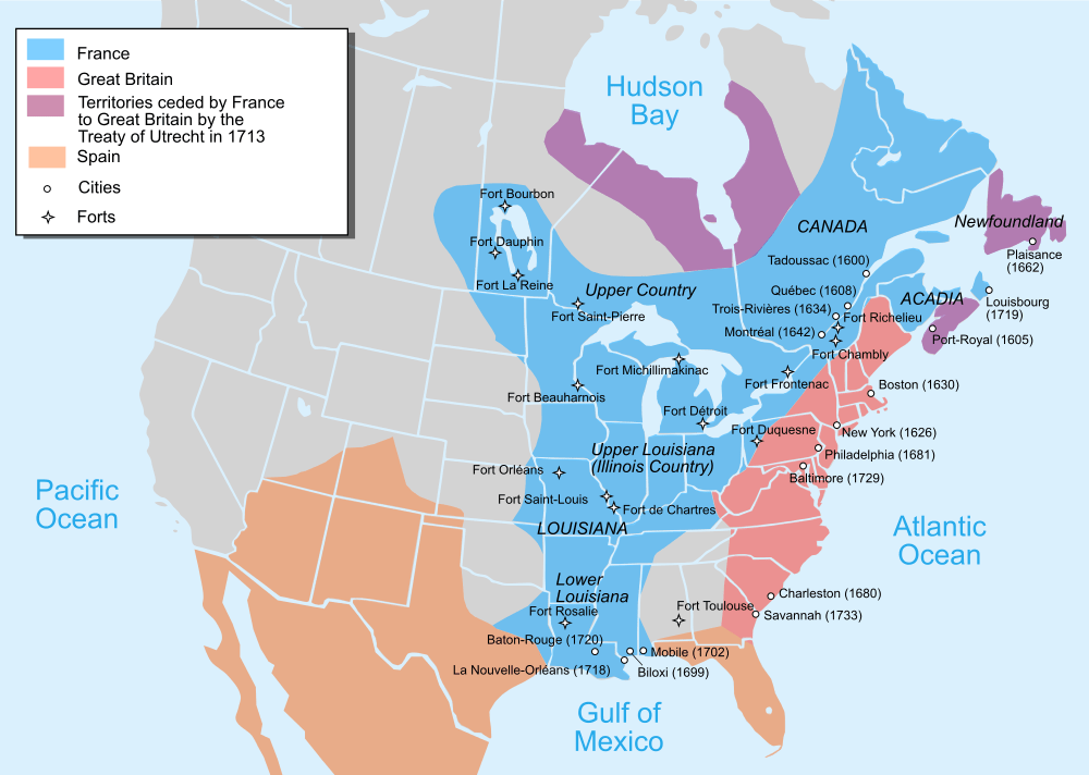 The French and Indian War from 1754 to 1759 Beaver Wars Access