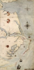 White's 1585 Roanoke Map