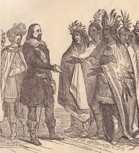 Treaty with Massasoit