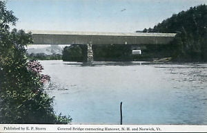 History of the Bridges Between Hanover NH and Norwich VT