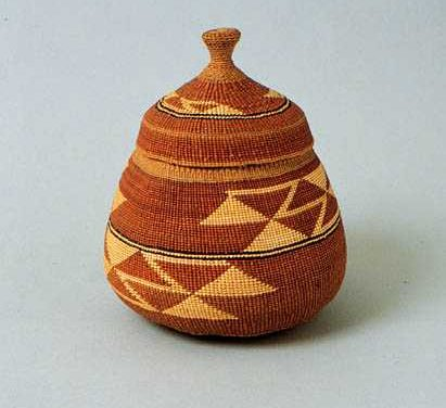Pomo Basket Making