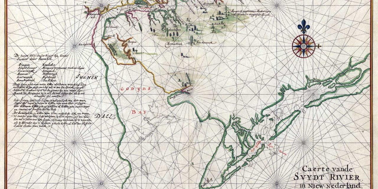 Map of Zwaanendael