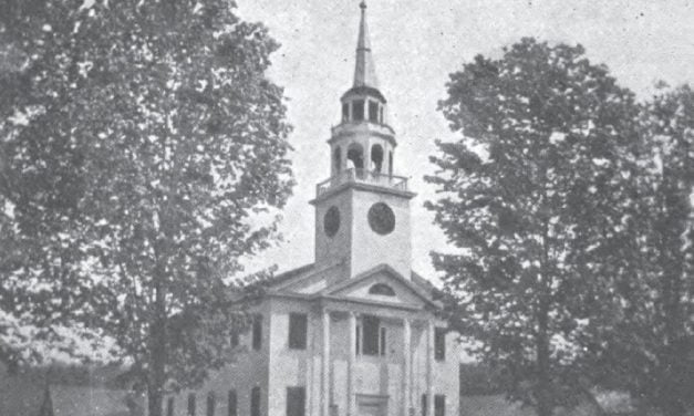 History of the Congregational Church of Norwich Vermont