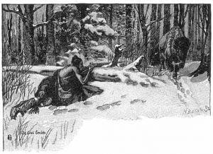 Smith Shoots a Buffalo