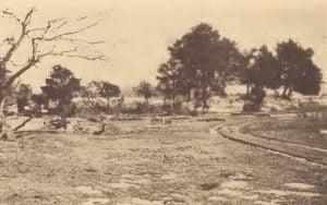 """Opechancano"" mound on the Pamunkey reservation"