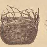 Mattaponi baskets made of honeysuckle stems.