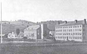 Norwich University 1862 - North Barracks South Barracks