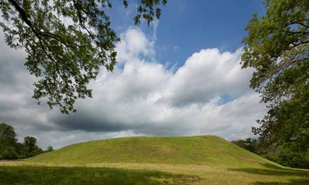 Indian Mounds in Natchez, Mississippi