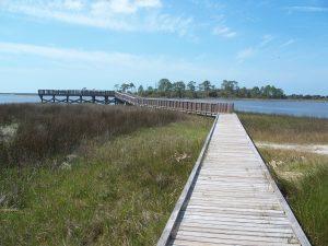 Cedar Key Shell Mound Park Boardwalk