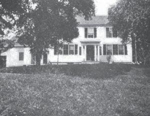 Loveland Homestead, built by Joseph Loveland in 1792