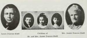 Family of James Duncan Mudd