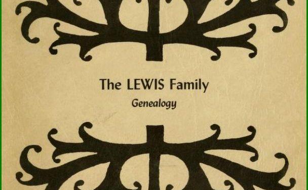 William Lewis Genealogy