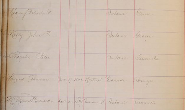 Chronological Record of Police Appointments City and County of San Francisco