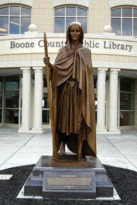 Mrs. Mary Draper Ingles Monument