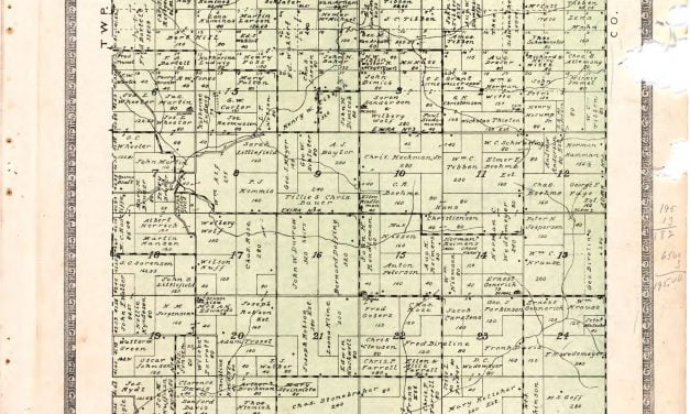 1921 Farmers Directory of Audubon Iowa