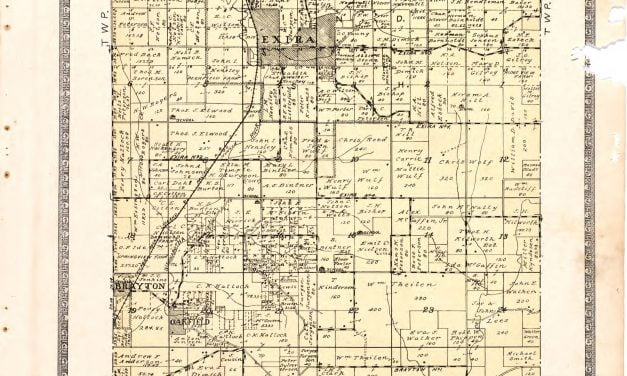 1921 Farmers' Directory of Exira Iowa