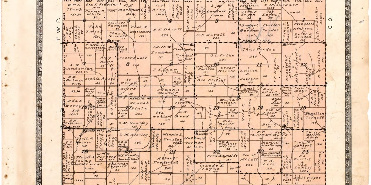 1921 Farmers' Directory of Greeley Iowa