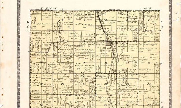 1921 Farmers' Directory of Hamlin Iowa