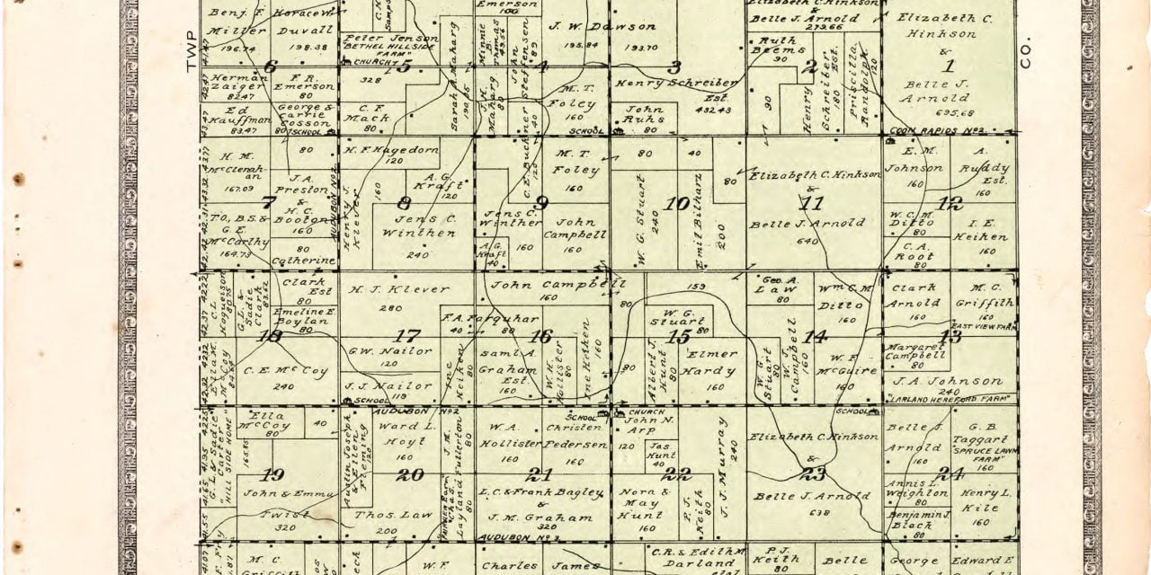 1921 Farmers' Directory of Melville Township