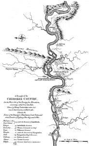 1763 Timberlake Map