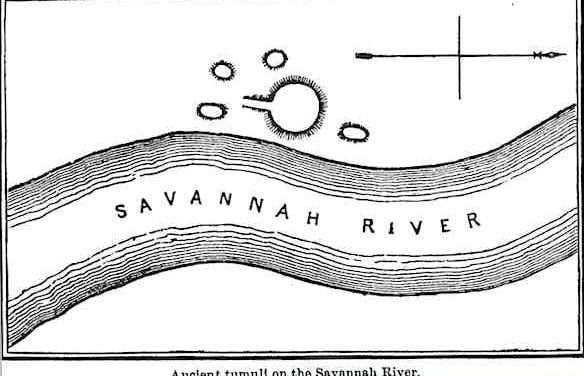Ancient Tumuli on the Savannah River