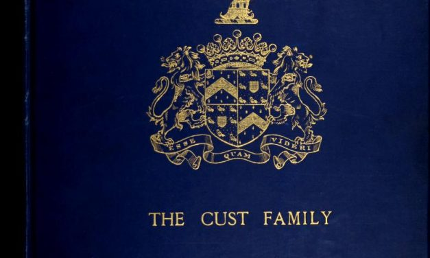 Genealogy of the Cust Family