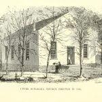 Upper Octorara Church, Erected in 1840