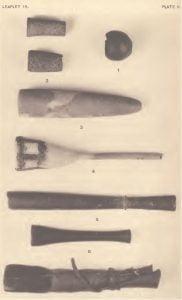 Plate II: American Indian Tobacco Pipes