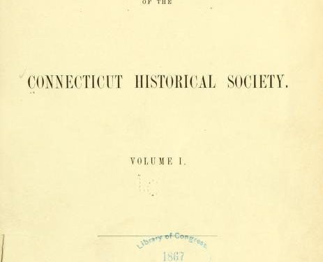 Collections of the Connecticut Historical Society