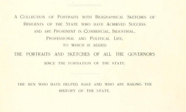Representative Men of Maine – Biographical Sketches and Portraits