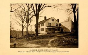 Sargent House, Cherry Valley