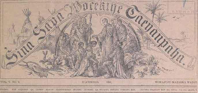 Catholic Sioux Herald Newspaper 1896-1912