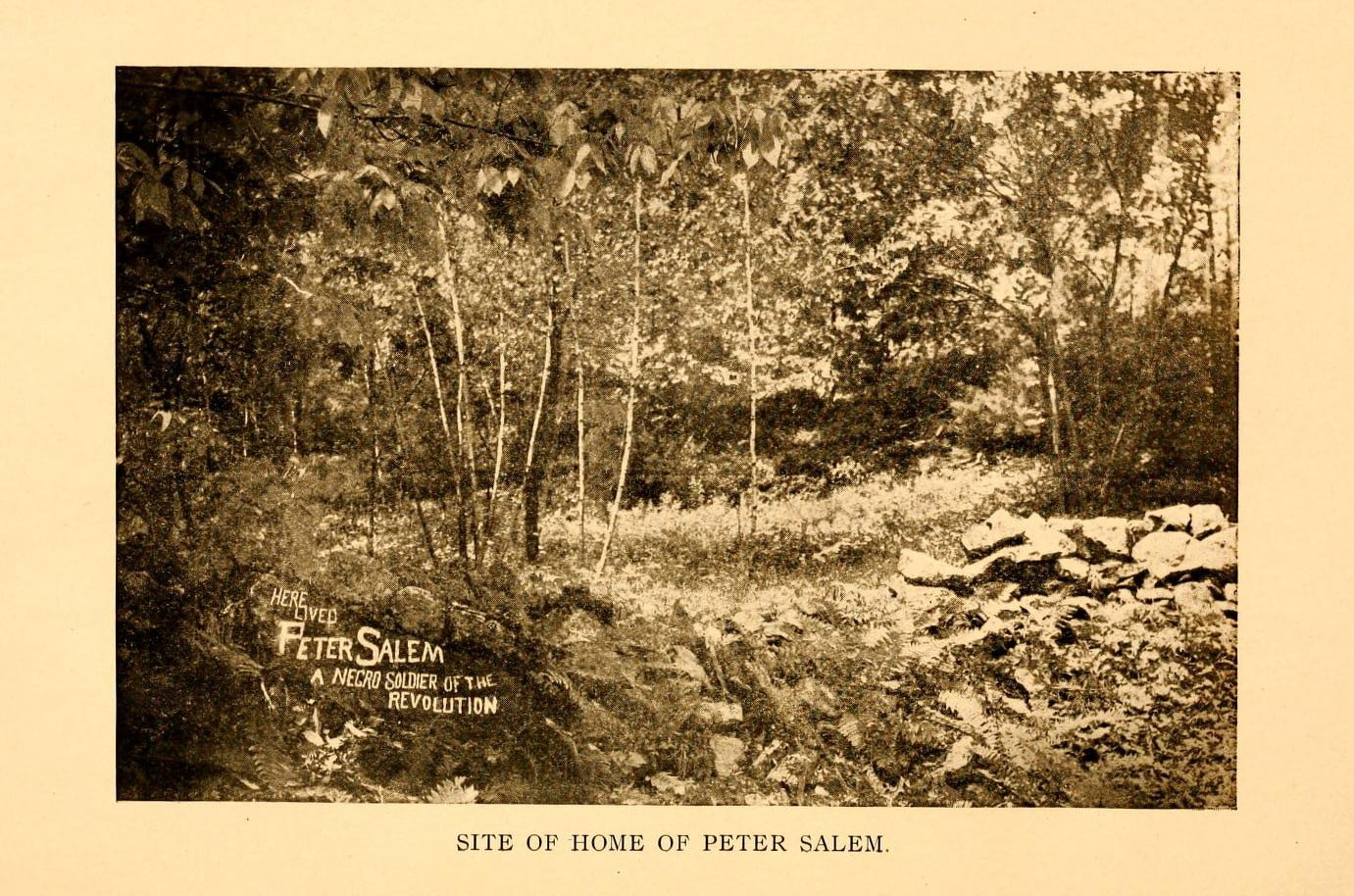 Site of Home of Peter Salem