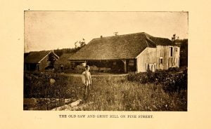 The Old Saw and Grist Mill on Pine Street