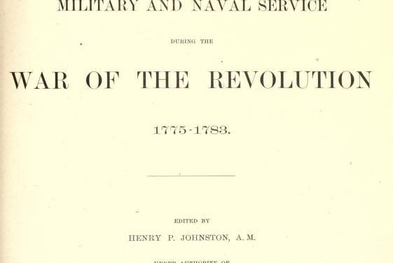 Record of Service of Connecticut Men in the War of the Revolution