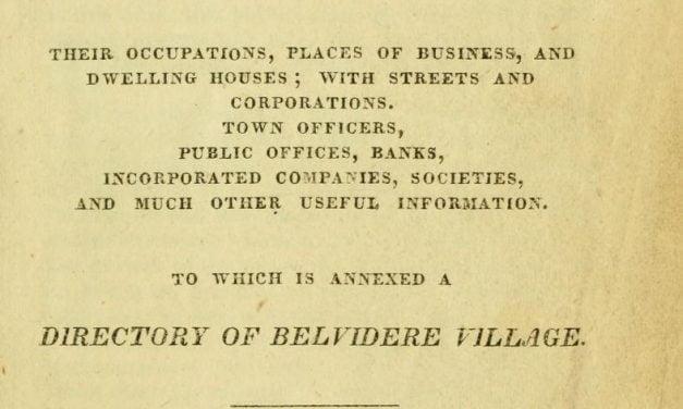 Lowell Massachusetts City Directories 1832-1876