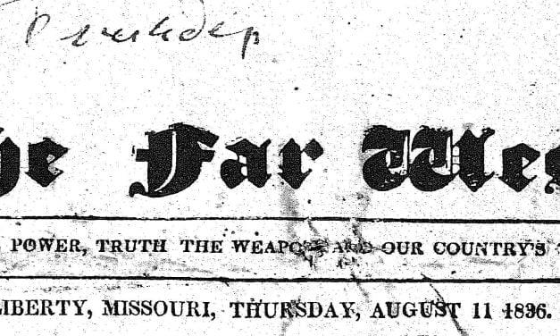 Free Missouri Historical Newspapers Online