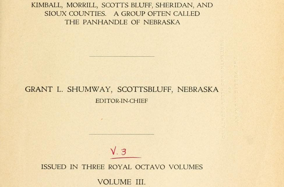 Biographies of Western Nebraska