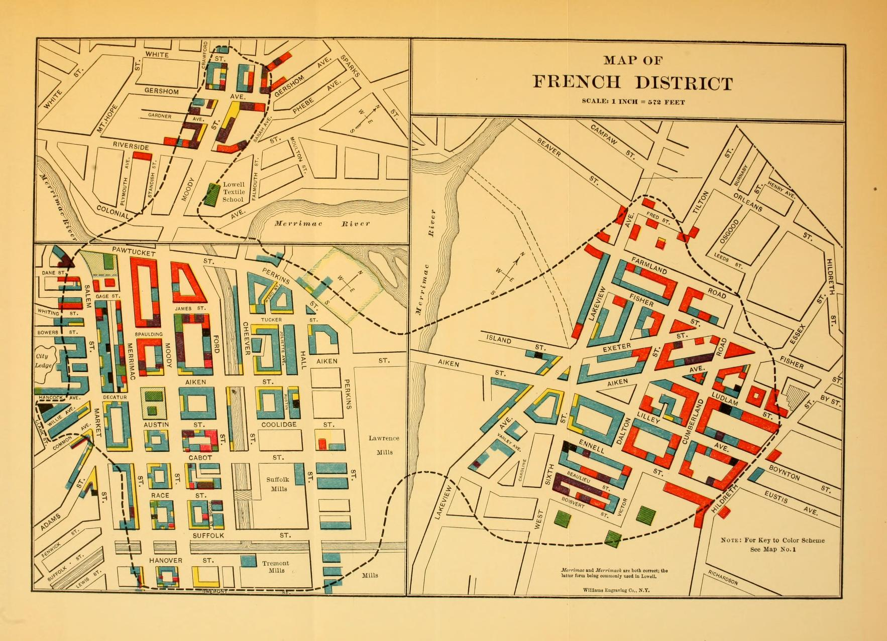 Lowell Oregon Map.Lowell Massachusetts Genealogy Access Genealogy
