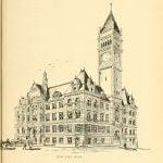 New City hall in Lowell Massachusetts