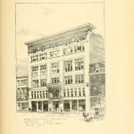 Odd Fellows Building in Lowell Massachusetts