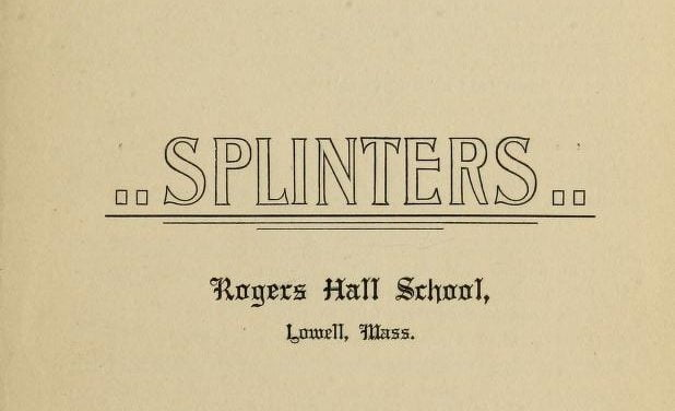 Yearbooks of the Rogers Hall School, Lowell MA 1900-1973