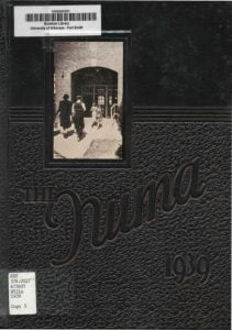 1939 Fort Smith Junior College Yearbook