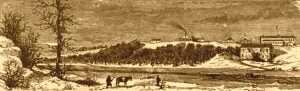 Fort Gibson in 1875